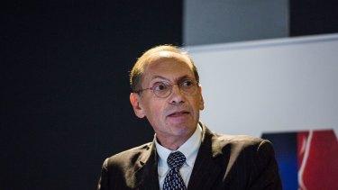 Outgoing CEO of Caltex, Julian Segal,