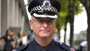Former Assistant Commissioner Brett Guerin.