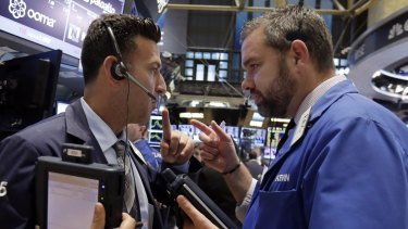 The benchmark S&P 500 index is headed for its biggest annual gain since 2013 at around 29 per cent.