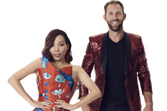 Singing sensation Dami Im and AFL superstar Travis Cloke are on Dancing With The Stars in 2020.
