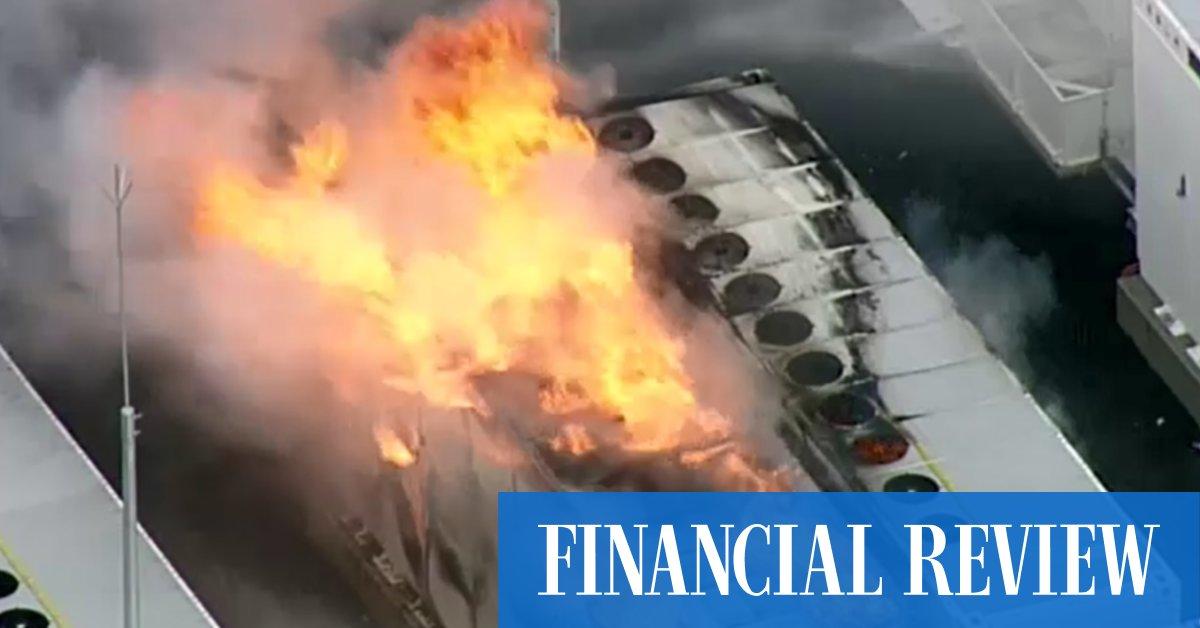 Geelong's Big Tesla Battery fire burns over weekend
