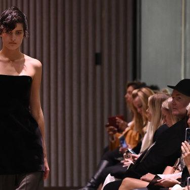 Beare Park made her Australian Fashion Week debut.