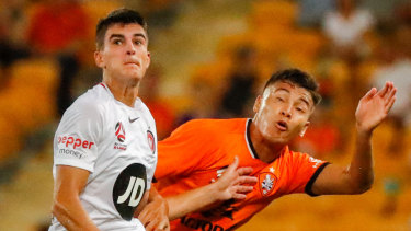 Call up: Marc Tokich, left, is one of several youngsters who will be unavailable for the Wanderers' youth side for their NYL grand final.