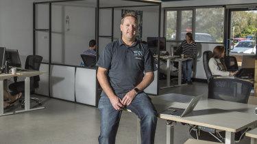 Chris Boden is looking to set up a 'firetech' startups program.