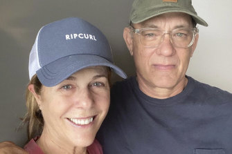Tom Hanks and wife Rita Wilson were quarantined in Australia after contracting coronavirus.