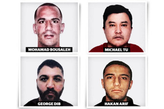 Suspected members of the