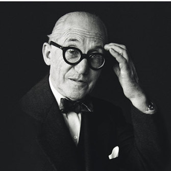 Swiss-French architect and designer Charles-Edouard Jeanneret, better known as Le Corbusier.