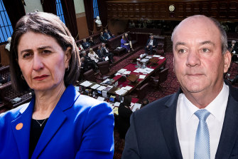 Gladys Berejiklian confirmed her relationship with Daryl Maguire.