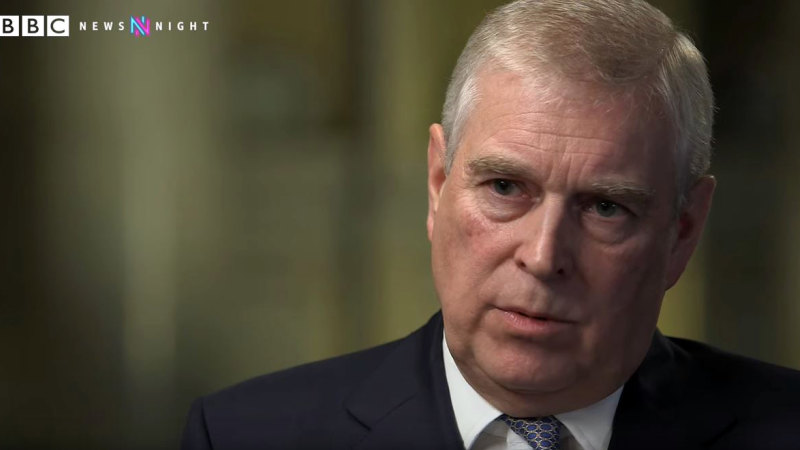 'I let the side down': Prince Andrew speaks out about Epstein, Giuffre