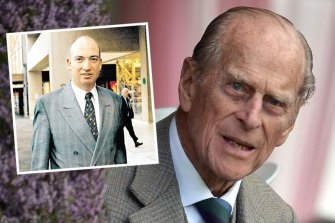 Lord Andrew Battenberg, who claims to be Prince Philip's illegitimate son.