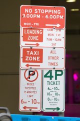 Confusing parking signs are in the firing line.
