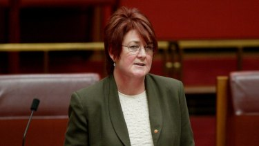 Senator Anne McEwen: ''40 per cent is not equal.''