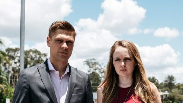 Michael Fraser and Maddison Johnstone of  Wage Theft Australia.