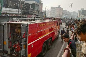 New Delhi fire: Dozens killed in 'extremely horrific' market blaze