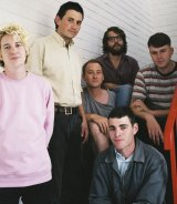 The Ocean Party with the late Zac Denton (front, at right).