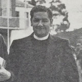 Leslie Wiggins, pictured in The Mitre, the Trinity Grammar year book.