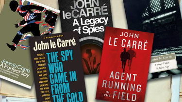 Some of John le Carre's works.