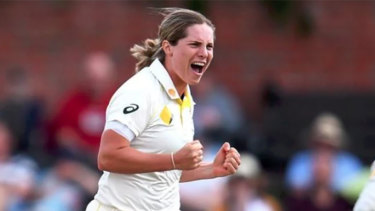 Cricket Australia will take a cautious approach with Sophie Molineux.