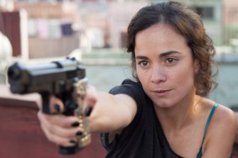 Teresa Mendoza plays a poor girl from Sinaloa in Queen of the South who has fallen in love with the excitement and easy money of the international drug trade.