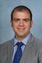 English teacher Alexander Simpson.
