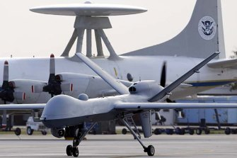 The Pentagon's Project Maven was designed to help process video footage from its drones.