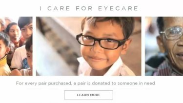 The ACCC claims Oscar Wylee's 'Buy 1 Pair, Give 1 Pair' campaign