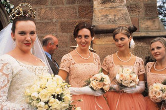 Muriel and the bridesmaids from hell in Muriel's Wedding.