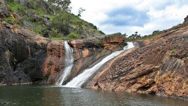 Serpentine Falls in Perth Hills.