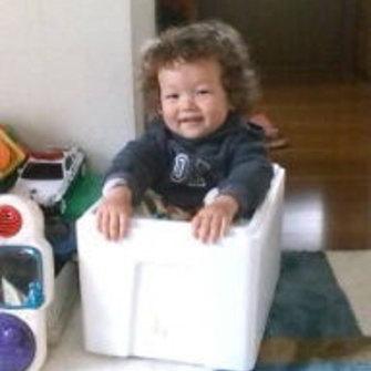Daniel Wass's son Sean as a toddler. Sean was born in March 2009 and Daniel hasn't seen him since 2010.